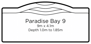 Paradise bay 9 | Everclear Pools Solutions