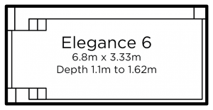 Elegance 6 | Everclear Pools Solutions