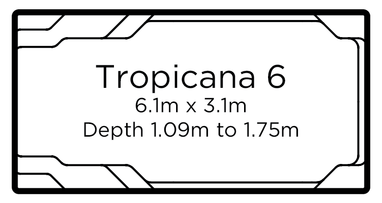 Tropicana 6 | Everclear Pools Solutions