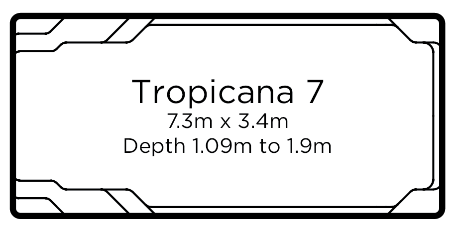 Tropicana 7 | Everclear Pools Solutions
